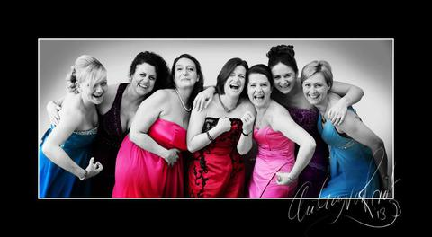 Middle Wallop Military Wives' Choir makeover and shoot